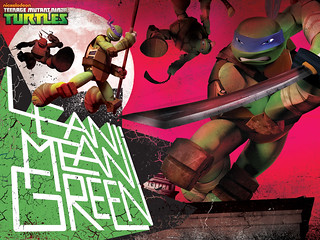 "Nickelodeon TEENAGE MUTANT NINJA TURTLES :: Wallpaper_TMNT-Lean-1600x1200-r01  (( 2012 )) [[ Courtesy of TOYS ""R"" US ]]"