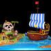 Jake and the Pirates Cake - Torta de Jake y los piratas en la isla calavera by Tortas Encantadas