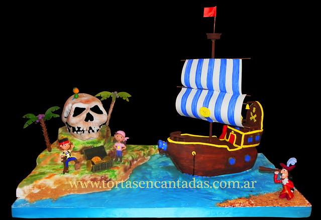 Tortas de jake y los piratas del pais de nunca jamas - Imagui