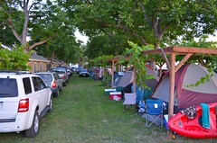 Packed Campgrounds