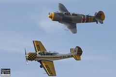 G-YCII & G-BXJB - Private - Yakovlev LET C-11 & Yakovlev Yak-52 - 120826 - Little Gransden - Steven Gray - IMG_4767