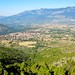 The first view of the Valle Peligna