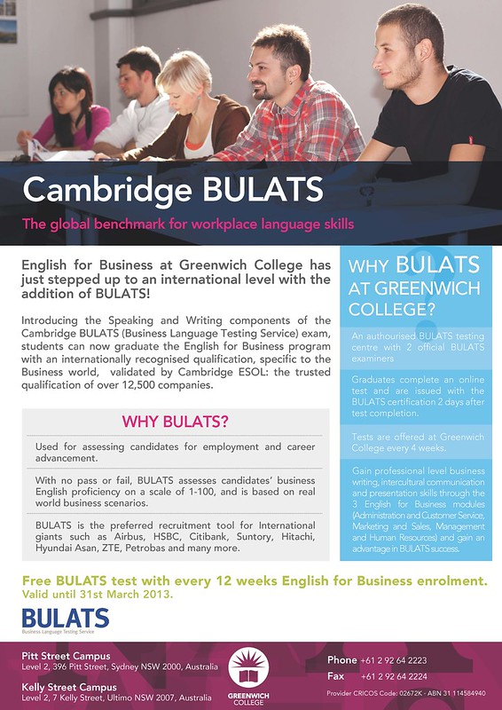 Cambridge BULATS