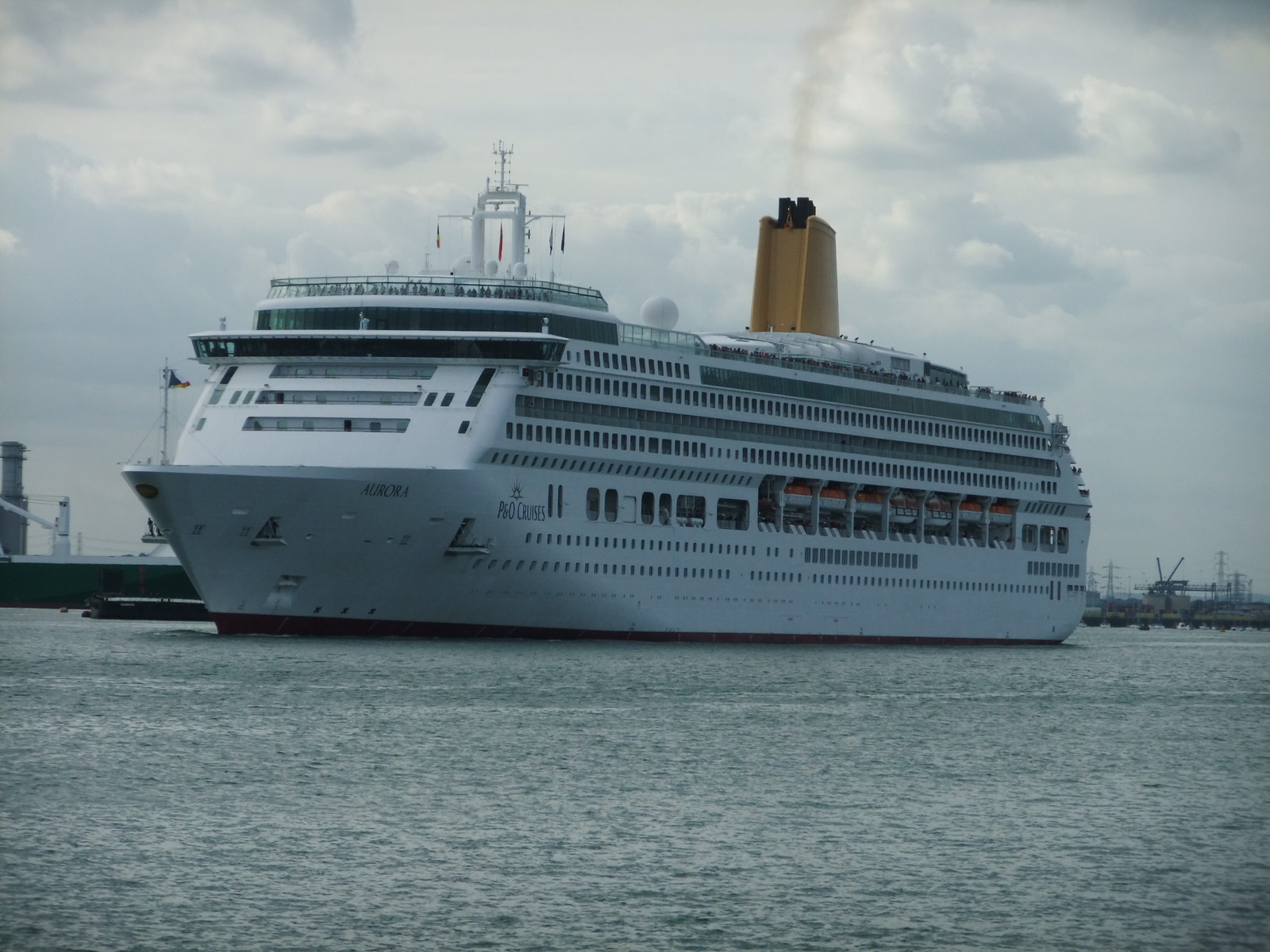 Cruises Leaving Southampton August 2012