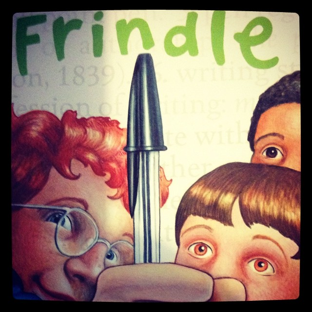 Frindle by andrew clements book report
