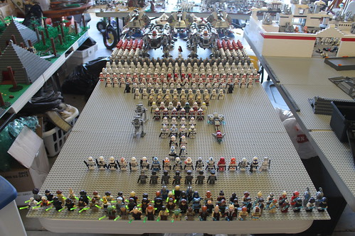 My New LEGO Star Wars Phase II Clone Era Army (2012)