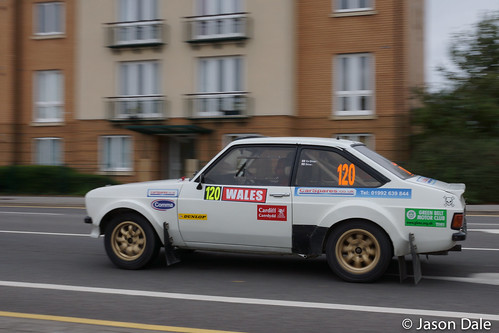 Team 120 Ford Escort - National Rally