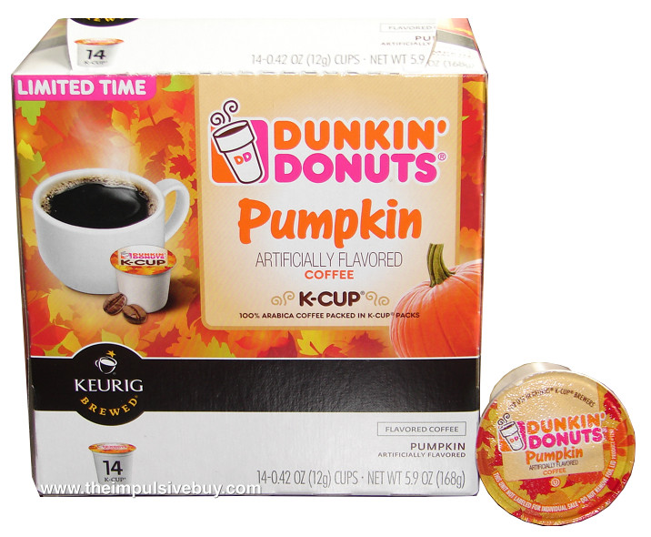 Dunkin' Donuts Pumpkin Coffee K-Cup Pack | … | Flickr ...