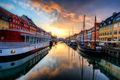 A Nyhavn sunset