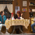 Nancy E. Carroll as Dottie, Karen MacDonald as Jean, and Johanna Day as Margaret in the Huntington's production of David Lindsay-Abaire's compelling Southie story GOOD PEOPLE directed by Kate Whoriskey, playing September 14 — October 14, 2012 at the Avenue of the Arts / BU Theatre. Photo: T. Charles Erickson