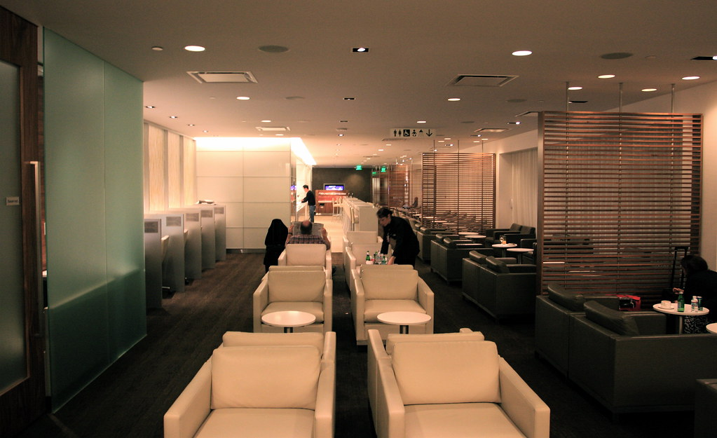 OneWorld First Lounge - LAX Tom Bradley Terminal