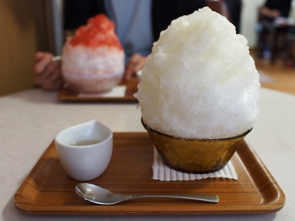 Japanese Shaved Ice Dessert - Pear