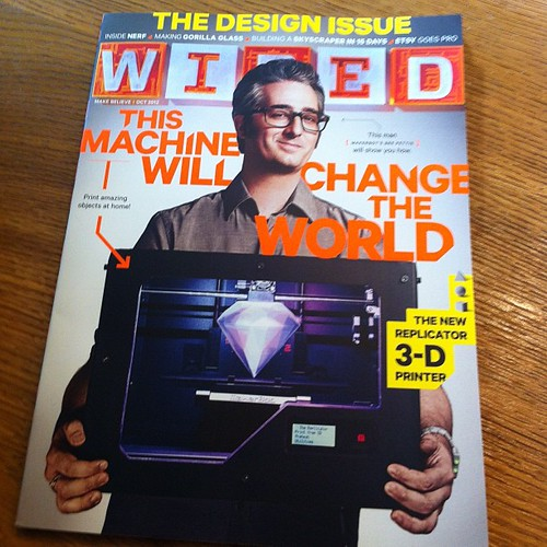From teacher to video blogger to maker to inventor, now @brepettis has conquered Wired! by ekai