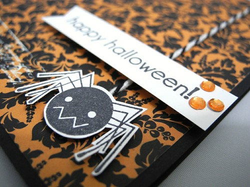Cute Spider Halloween (detail)