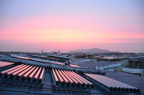 china sunset 2012 zhenjiang dantu keyuanhuating