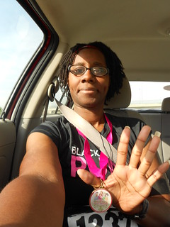 Me with running medal #5