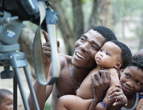 Bushmen and the video camera