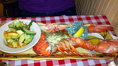 Baked Stuffed Lobster Duchess, Lobster Pot, Siesta Key, Sarasota, FL