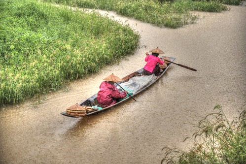 Rainy Day - Inlay Lake - Myanmar