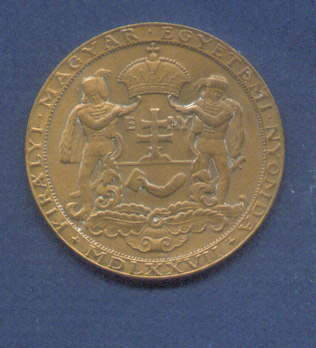 Royal HungarianPressMedal1877