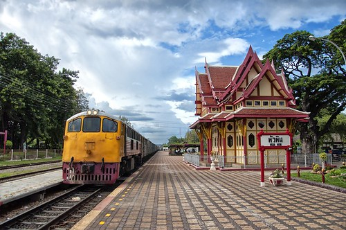 An image of the Hua Hin train station in Thailand