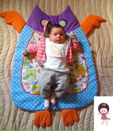 Tapete para bebé by Linhas Arrojadas Atelier de Costura ® Trademark