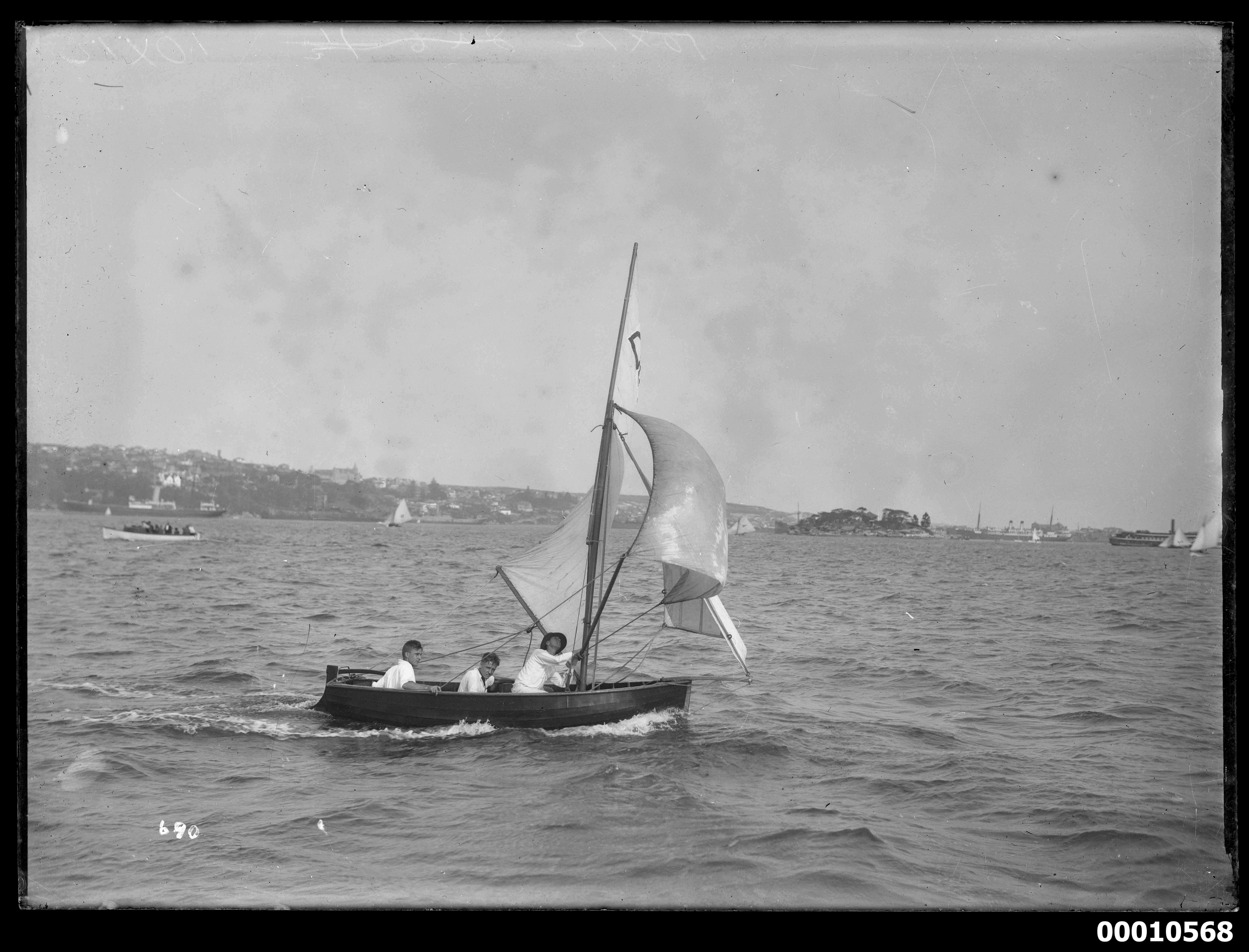 10 footer vessel on Sydney Harbour