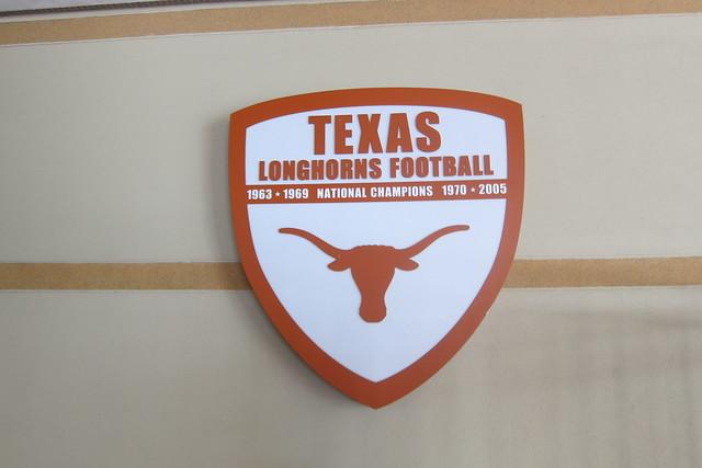 Texas Football Locker Room Upgrade