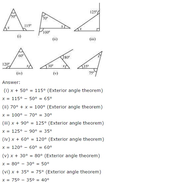NCERT Solutions for Class 7th Maths Chapter 6 The-Triangle-and-its-Properties Exercise 6.2