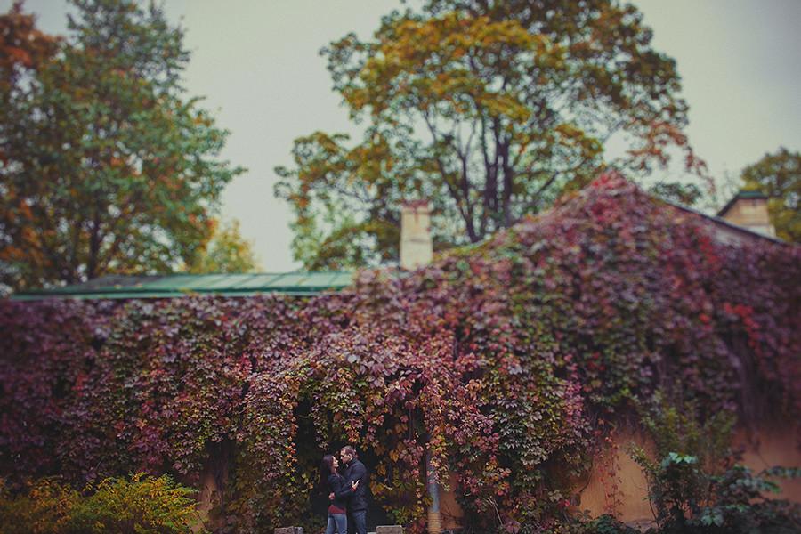 Съемка lovestory осенью