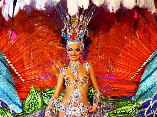 Carnaval Queen Contestant