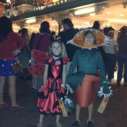 Time to trick or treat!!!!!  #halloweentime
