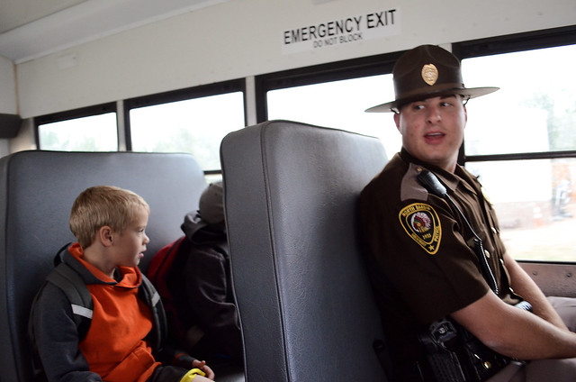 Trooper on Bus: Michael Wald