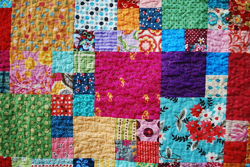 Magic Number Quilt Detail