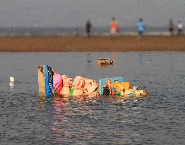 Ganesh, Aksa beach, Mumbai