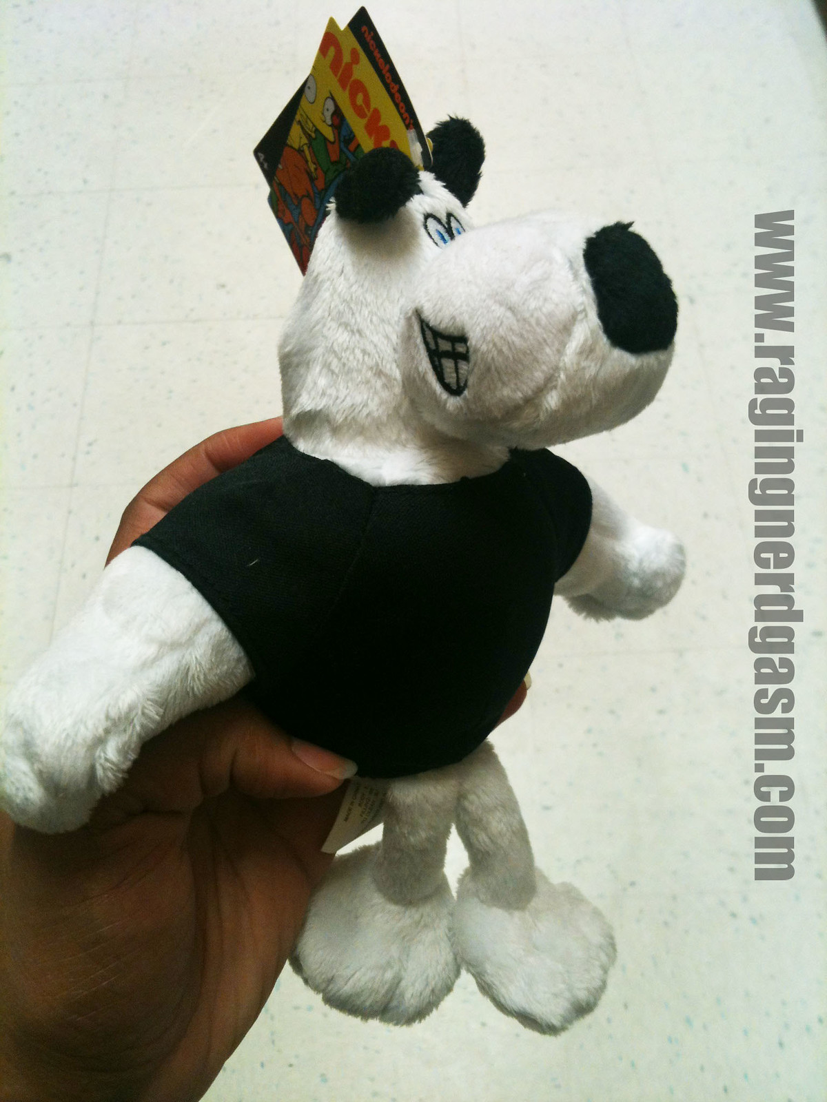 NickToons Plush by Jazwares Tough Puppy010