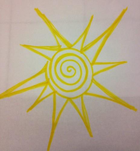Yellow: Sun