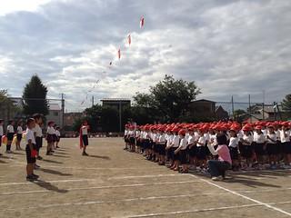 2012/9/29 蕨市立西小学校 運動会
