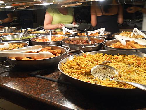 Paradise Park Hotel buffet