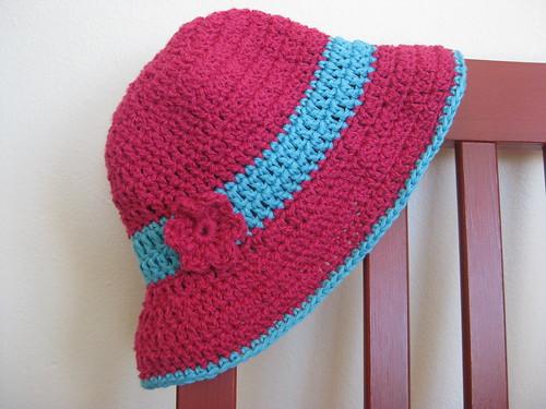Crochet sunhat 2