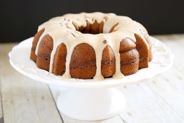 Maple Cinnamon Banana Bundt Cake 001