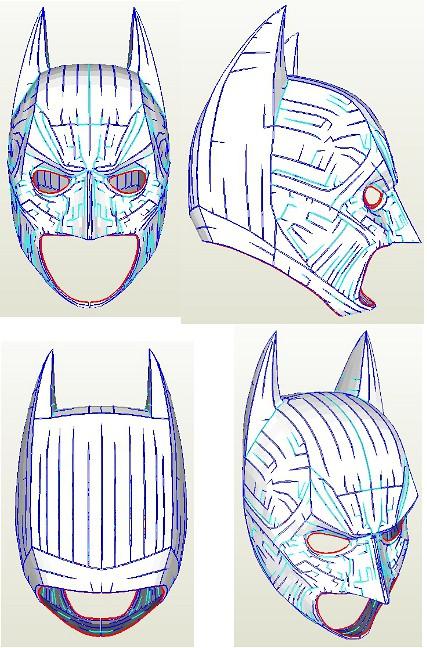 Batman v superman: dawn of justice papercrafts | papercraftsquare. Com.