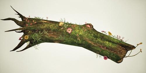 Fallen Tree (Flowers)