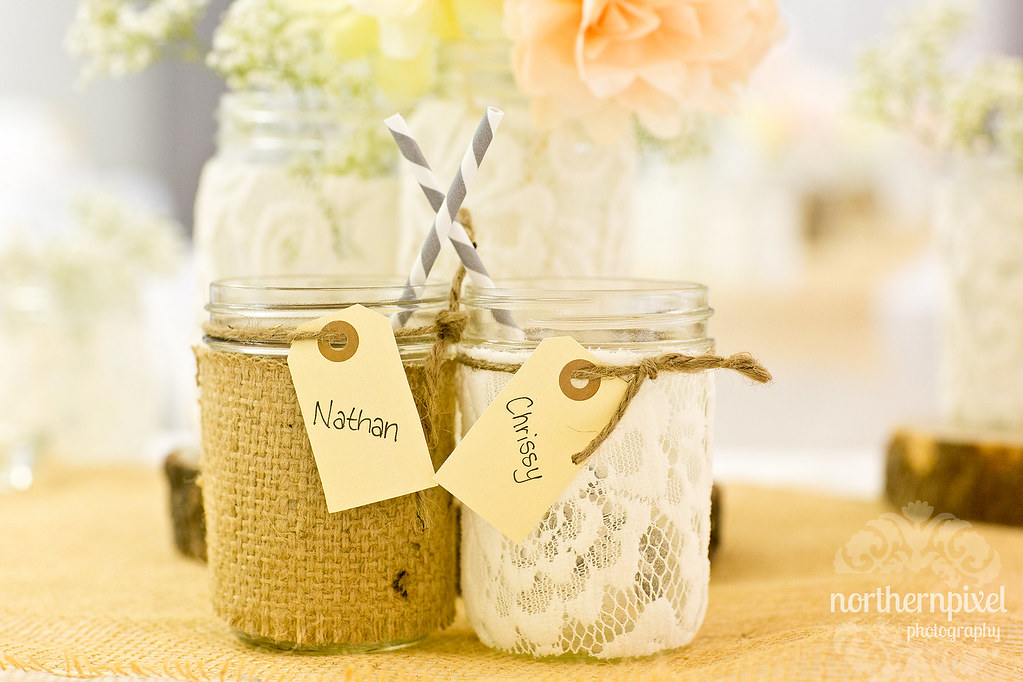 DIY Wedding Cups