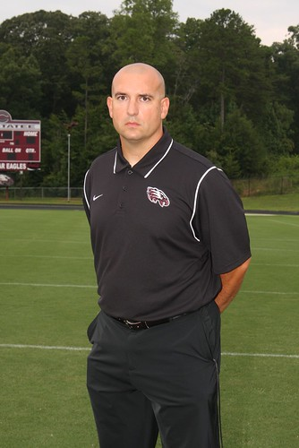 2012 Coach of the Week presented by Russell Athletic //  Stan Luttrell of Chestatee High School located in Gainesville, GA // October 1, 2012