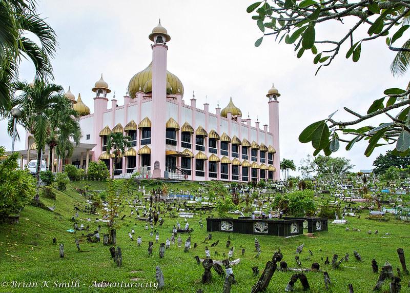 Muslim Cemetery, Kuching Mosque