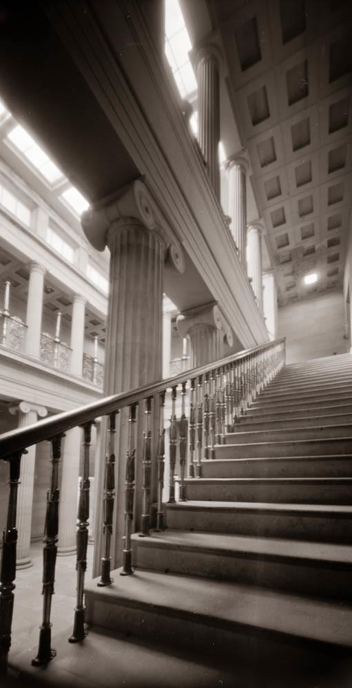 Pinhole Belsay Hall