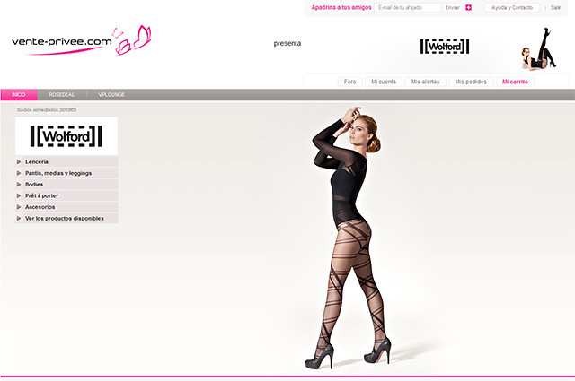 Vente Privee mejores outlet online moda