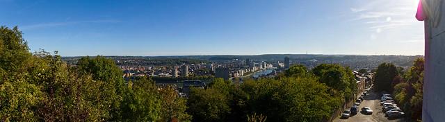 Panorama sur Liège depuis Les Coteaux de la Citadelle