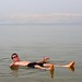 Dead Sea floating by Keith.Fulton
